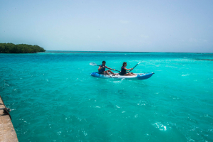 Belize kayaking Caye Caulker