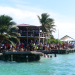 Caye Caulker Split Busy