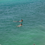 Caye Caulker Swimming